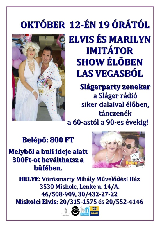 20131012 Elvis es Marilyn show es party 550px