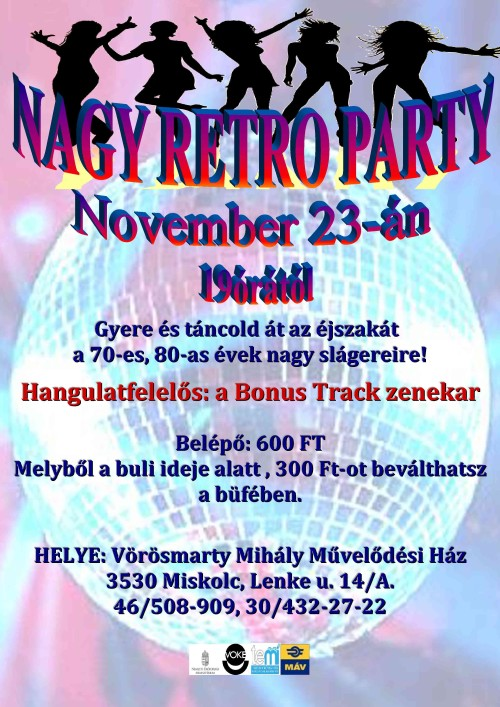 20131123 RETRO PARTY plakat